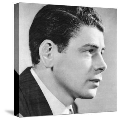 Paul Muni, American Film Actor, 1934-1935--Stretched Canvas Print