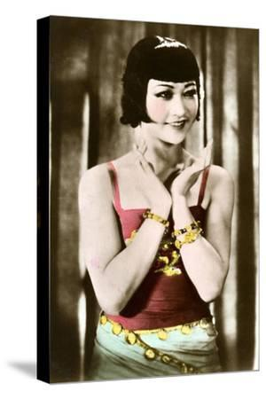Anna May Wong (1905-196), Chinese-American Actress, 20th Century--Stretched Canvas Print
