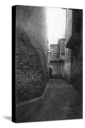 A Street in Baghdad, 1918--Stretched Canvas Print