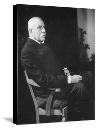 Sir Edward Elgar, (1857-193), English Composer, Early 20th Century--Stretched Canvas Print