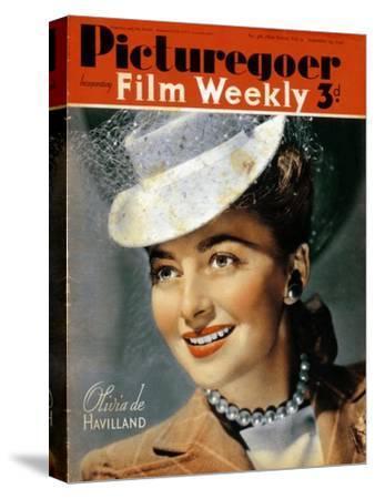Olivia De Havilland (B191), American Actress, 1940--Stretched Canvas Print