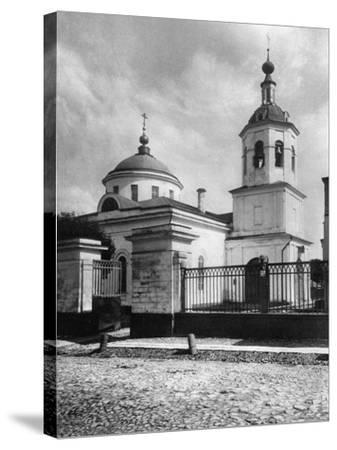 Church of St James the Apostle, Kazennaya, Moscow, Russia, 1881- Scherer Nabholz & Co-Stretched Canvas Print