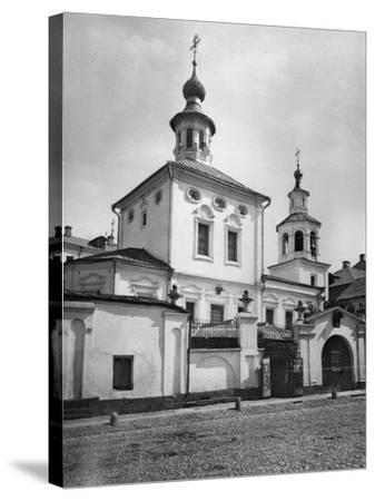 Church of St Pope Clement of Rome, Moscow, Russia, 1881- Scherer Nabholz & Co-Stretched Canvas Print