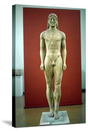 Kouros, C650-500 BC--Stretched Canvas Print