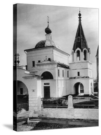 Church of Three Saints (Prelate), Kulishki, Moscow, Russia, 1881- Scherer Nabholz & Co-Stretched Canvas Print