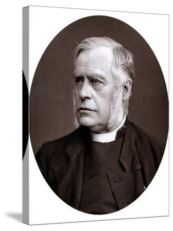 James Atlay (1817-189), English Cleric, 1877--Stretched Canvas Print