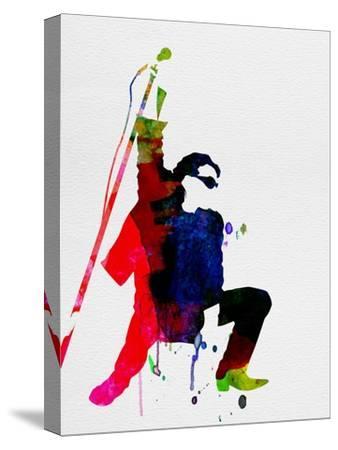 Bono Watercolor-Lora Feldman-Stretched Canvas Print