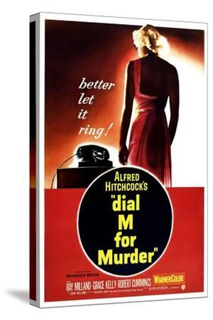 Dial M for Murder, 1954--Stretched Canvas Print