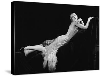 A Woman of Affairs, 1928--Stretched Canvas Print