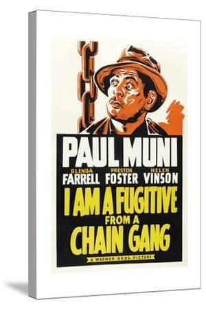 I Am a Fugitive from a Chain Gang, 1932--Stretched Canvas Print