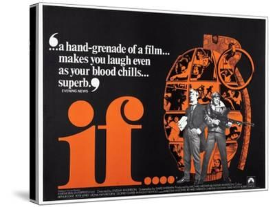 If.. . 1968--Stretched Canvas Print