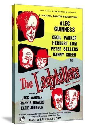 The Ladykillers, 1955--Stretched Canvas Print