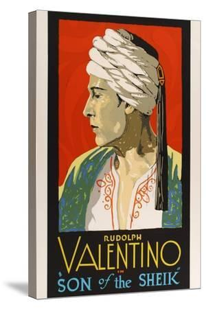 The Son of the Sheik, 1926--Stretched Canvas Print