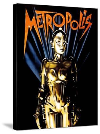 Metropolis, 1927--Stretched Canvas Print