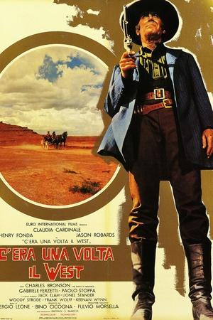 Once Upon a Time in the West, 1968 (C'Era Una Volta Il West)--Stretched Canvas Print