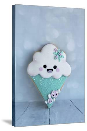 Snowcone Cookie--Stretched Canvas Print
