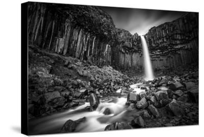 The Great Svartifoss-Janne Kahila-Stretched Canvas Print