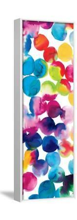 Bright Circles II-Hugo Wild-Framed Stretched Canvas Print