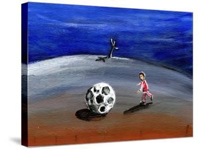 I Found a Great Big Football, 2005-Gigi Sudbury-Stretched Canvas Print