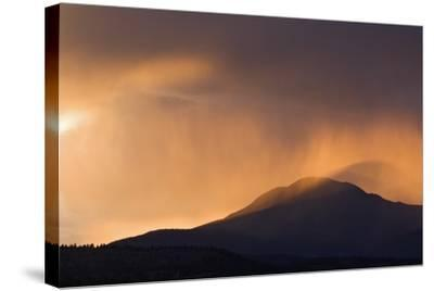Colorado. Sunset in Stormy Rocky Mountains-Jaynes Gallery-Stretched Canvas Print