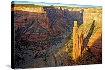 Spider Rock in Canyon De Chelly, Arizona-Richard Wright-Stretched Canvas Print