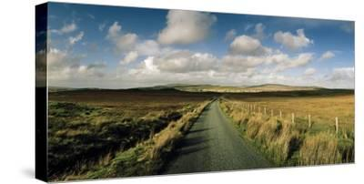 A Road Cuts Through a Scottish Moor Near Dunvegan-Macduff Everton-Stretched Canvas Print