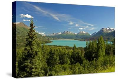 Skilak Lake-Design Pics Inc-Stretched Canvas Print
