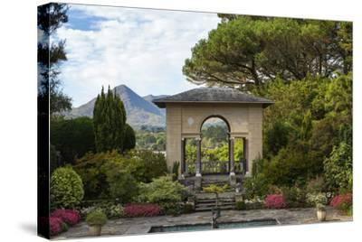 The Italian Garden at Garnish Island in Glengarriff, County Cork-Chris Hill-Stretched Canvas Print