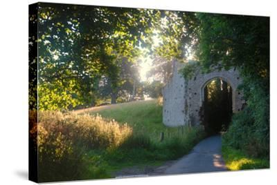 Ruins of the 13th Century 'New Gate' Leading to the Ancient Village of Winchelsea-Roff Smith-Stretched Canvas Print