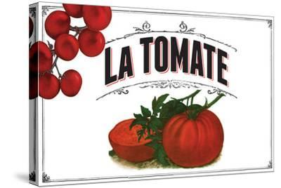French Produce Tomato--Stretched Canvas Print
