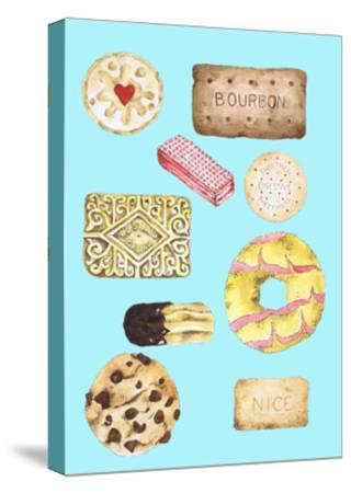 Biscuits-Alexandra Rolfe-Stretched Canvas Print