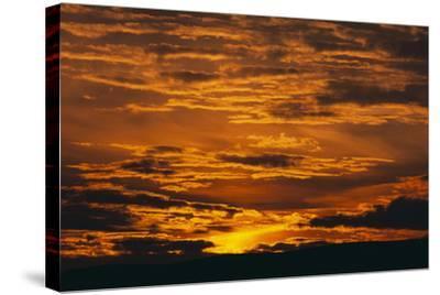 Sunset-DLILLC-Stretched Canvas Print