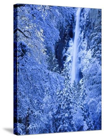 Bridal Vel Falls, Yosemite National Park, California, USA-Scott Smith-Stretched Canvas Print