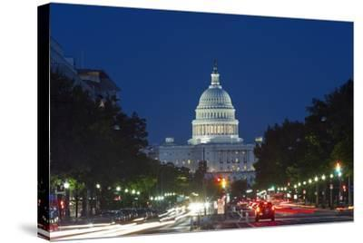 The US Capitol, Washington Dc.-Jon Hicks-Stretched Canvas Print