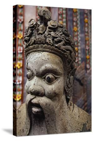 Sculpture at the Grand Palace-Macduff Everton-Stretched Canvas Print