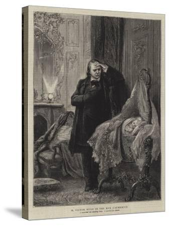 Illustration for the History of a Crime-Adrien Emmanuel Marie-Stretched Canvas Print