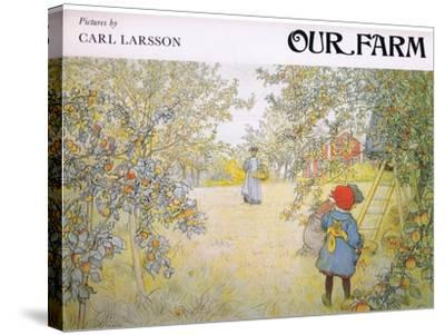 Front Cover-Carl Larsson-Stretched Canvas Print