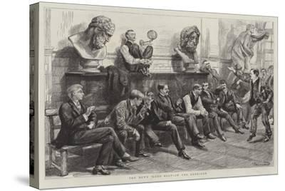 Schools of the Royal Academy-Charles Paul Renouard-Stretched Canvas Print