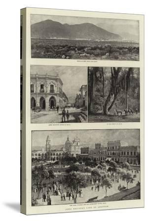 Jabez Balfour's Land of Adoption-Charles Joseph Staniland-Stretched Canvas Print