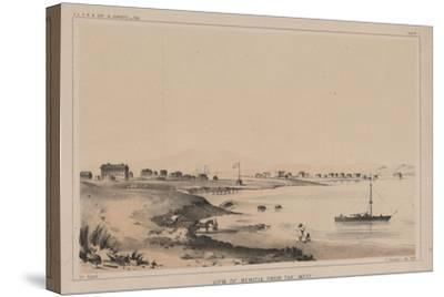 View of Benicia from the West, 1856-Charles Koppel-Stretched Canvas Print