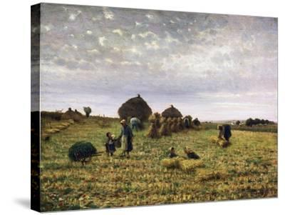Harvest-Federico Rossano-Stretched Canvas Print