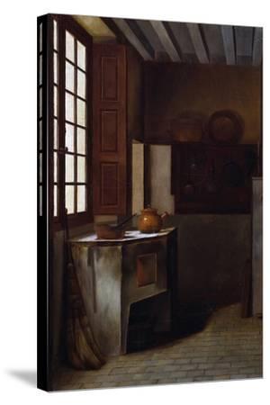 Kitchen Interior-Emma Trimolet-Stretched Canvas Print