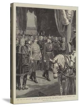 The Duke of Connaught in Hungary-Frank Dadd-Stretched Canvas Print