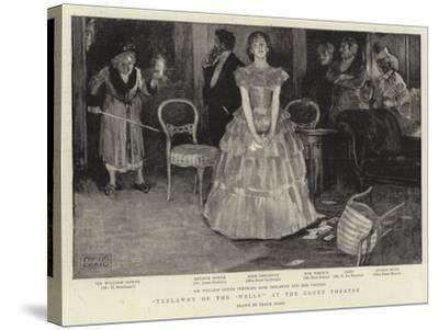 Trelawyn of the 'Wells' at the Court Theatre-Frank Craig-Stretched Canvas Print