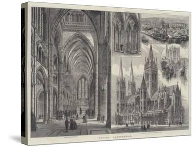 Truro Cathedral-Frank Watkins-Stretched Canvas Print