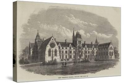 New Wesleyan College, Belfast-Frank Watkins-Stretched Canvas Print