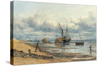 At Southend, Essex-George Arthur Fripp-Stretched Canvas Print