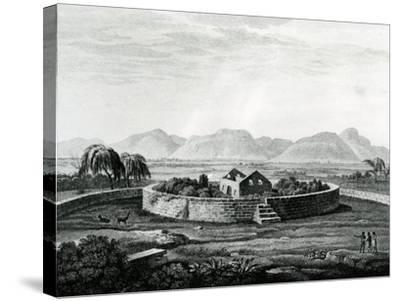 Peruvian Monument of Canar-Friedrich Alexander Humboldt-Stretched Canvas Print