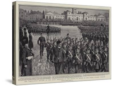 The Coronation Review of the Boys' Brigades by the Prince of Wales on the Horse Guards' Parade-Gordon Frederick Browne-Stretched Canvas Print