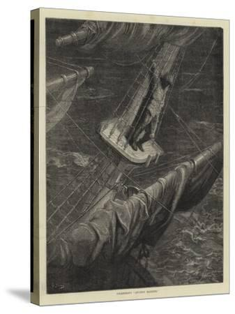 Coleridge's Ancient Mariner-Guido Bach-Stretched Canvas Print